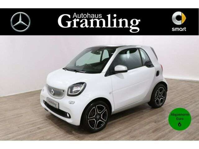 smart, forTwo, coupe 66 KW prime*Sleek-Style*Navi*Kamera