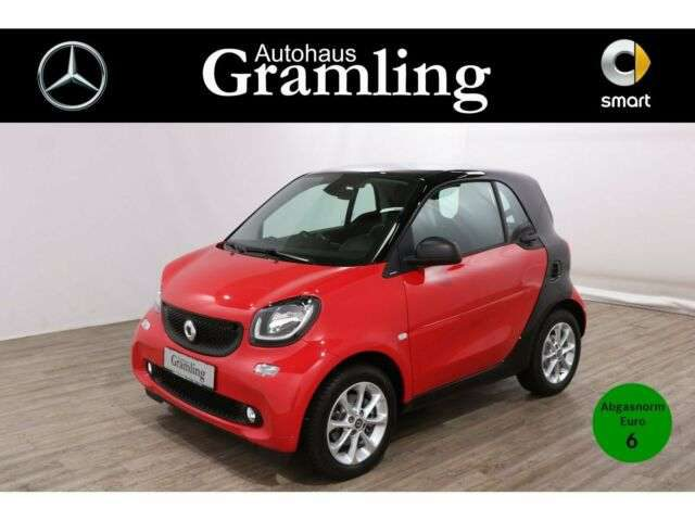 smart, forTwo, coupe 66KW passion*Navi*Pano*LED*Einparkh