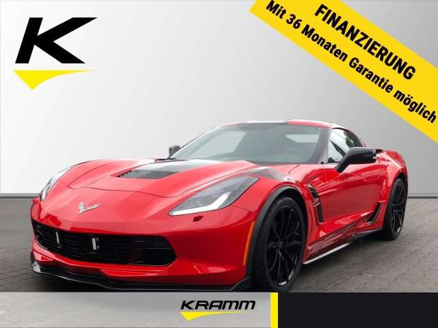 C7, Stingray Coupe Grand Sport 3LT 6.2 V8 Leder Navi K