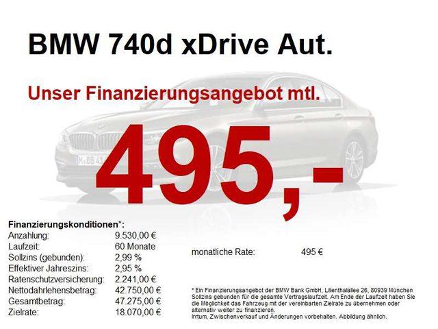 740, d xDrive Aut. ...sehr gepflegt!!!