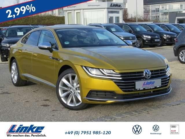 Volkswagen, Arteon, Elegance 2,0 TDI DSG LED/Navi/ACC/Garantie bis 01