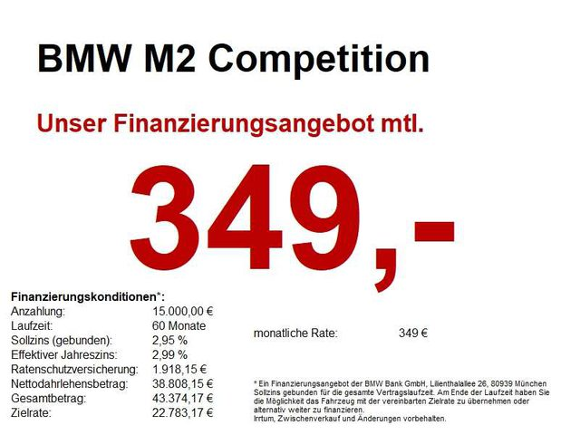 M2, Competition * AKTIONSPREIS *