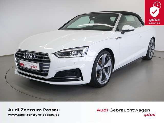 A5, Cabriolet 35 TDI S tro./S line/LED/NAVI+/AHK/PDC+