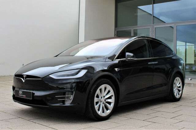 Model X, 90D |Premium|Obsidian Schwarz|SuC-Free|