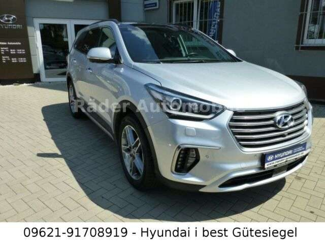 Grand Santa Fe, blue 2.2 CRDi Premium 4WD SicherP