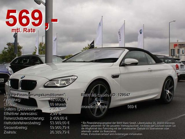 M6, cabrio competition 20 zoll. headup. bang&oluf