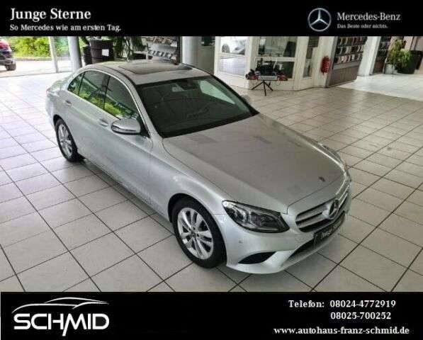 Mercedes-Benz, C 180, Limo 9G High End Licht Advanced Info SHD D