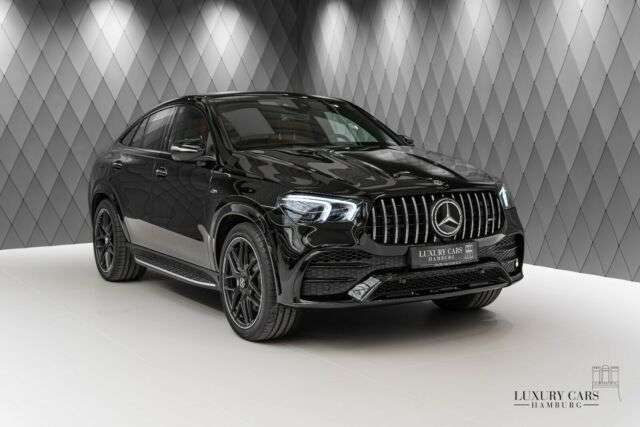 GLE 53 AMG, COUPE, BLACK/RED, PANO, DIST, CARBON