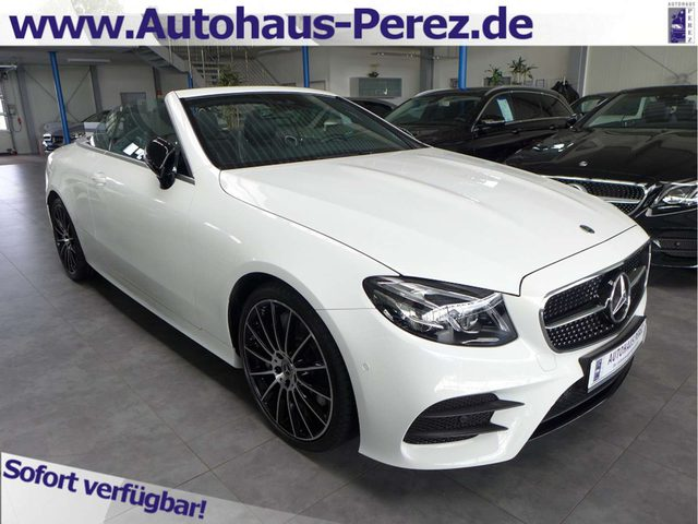 Mercedes-Benz, E 300, Cabrio 9-G AMG NIGHT-COMAND-BEAM-20 ZOLL