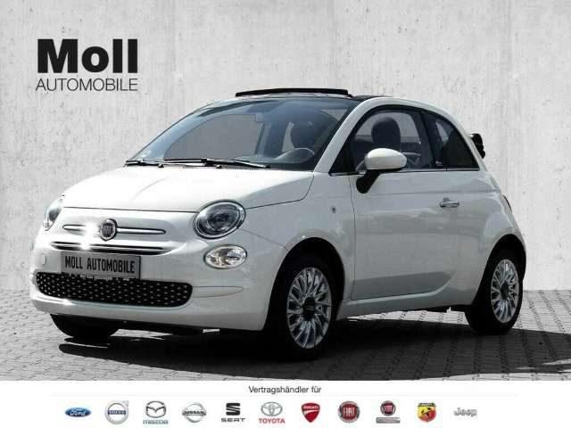 Fiat, 500C, 1.2 Serie 7 Lounge City Paket Dach Schwarz '2020'