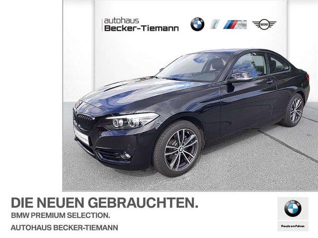 BMW, 218, d Coupé Sport Line Leas.ab 299,-ohne Anz.Navi LED