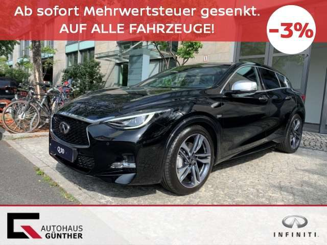 Q30, 2.0t AWD 7DCT Sport City Black Vollausstattung