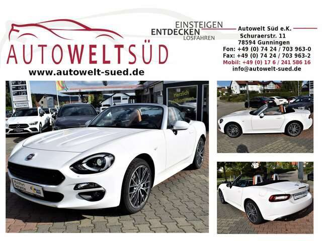 124 Spider, 1.4 MultiAir Turbo Lusso LED Bose RCam KeyL