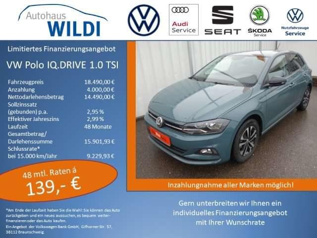 Polo, IQ.DRIVE 1.0 TSI OPF 70 kW (95 PS) 5-Gang