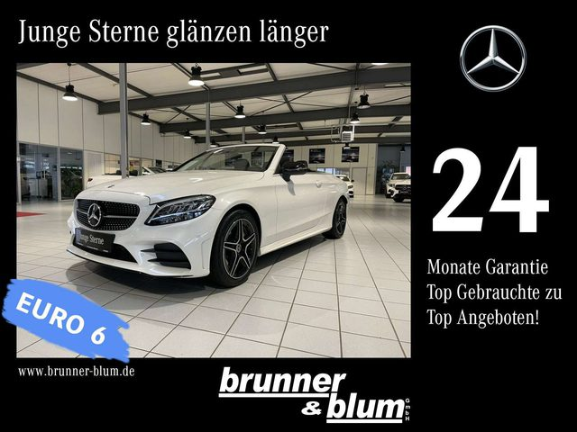 Mercedes-Benz, C 200, Cabriolet AMG Line,Comand,Distronic,LED Airscarf