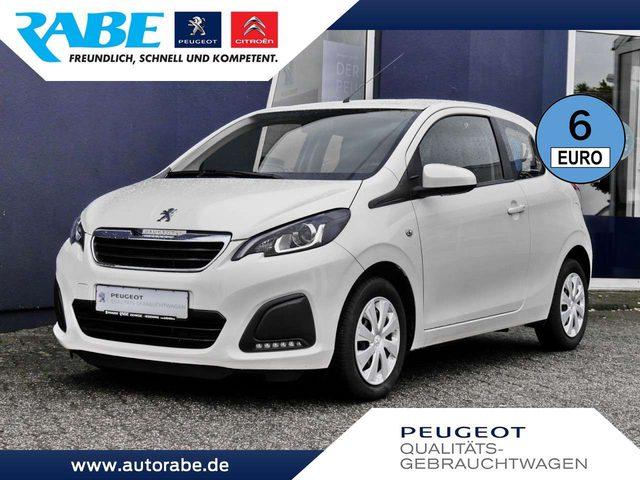 Peugeot, 108, Active 72 VTi Klima+Sitzheizung+Bluetooth