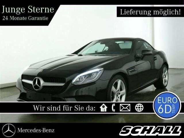 Mercedes-Benz, SLC 200, AIRSCARF+LED INTELLIGENT+TOTWINKEL+PARK