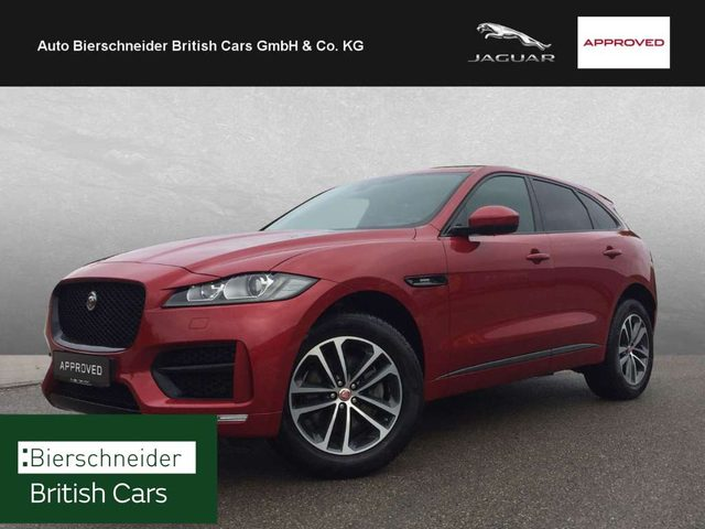 F-Pace, 30d AWD R-Sport PANORAMA DAB BLACK PACK TFT WINTER
