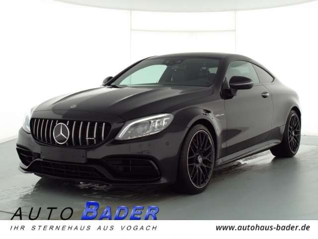 Mercedes-Benz, C 63 AMG, Coupe Night 3xHighEnd Panorama Vmax