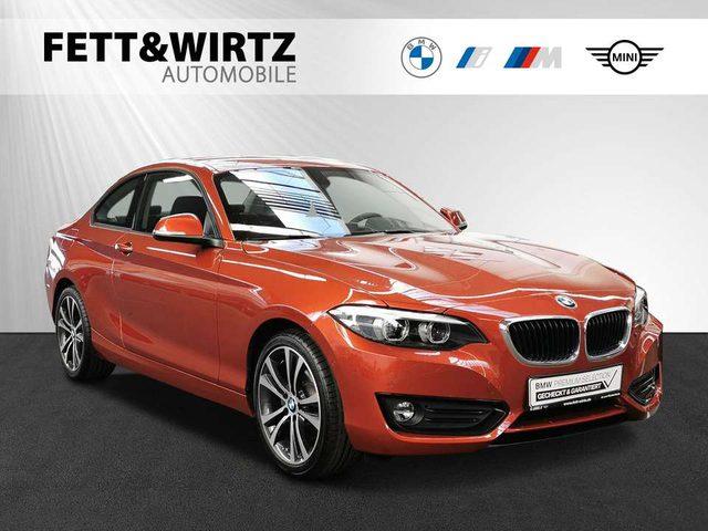 BMW, 220, i Coupe Adv. Aut. NaviProf. SHZ PA Kamera