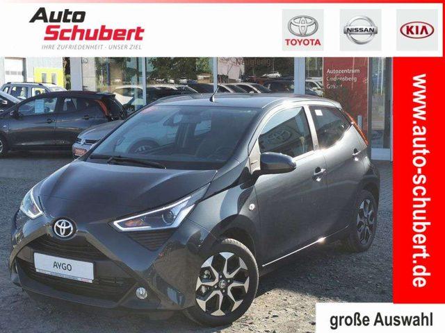 Toyota, Aygo, x-play Team Deutschland+SAFETY-SENSE+KLIMA+