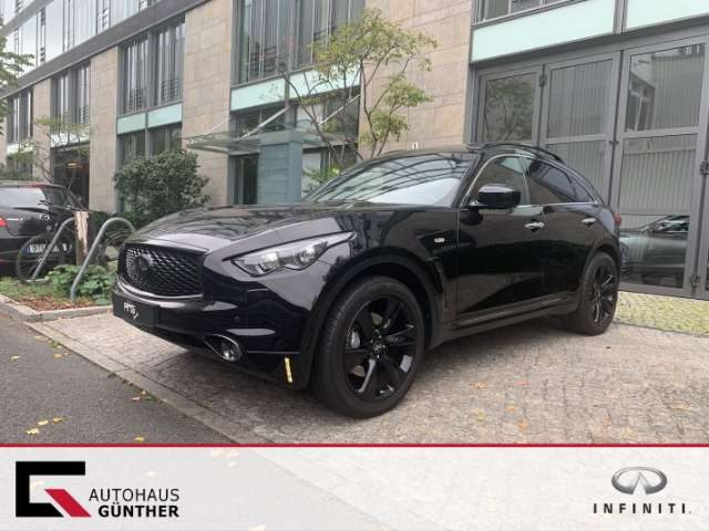 QX70, 3.7 V6 AWD S Design in Vollausstattung LED TFL