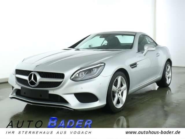 Mercedes-Benz, SLC 200, Leder Airscarf LED Intelligent Light PTS