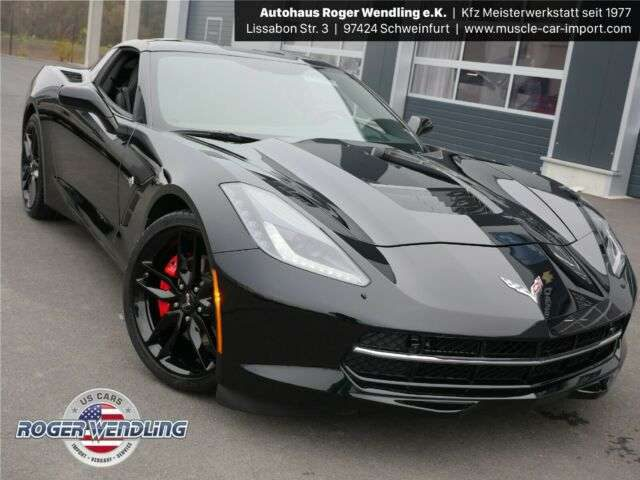 C7, 6.2 V8 AT8 Stingray Coupe 2LT KLAPPENAUSPUFF