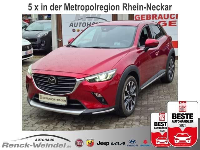 CX-3, Sports-Line AWD Navi Klima Keyless PDCv+h HUD Rück