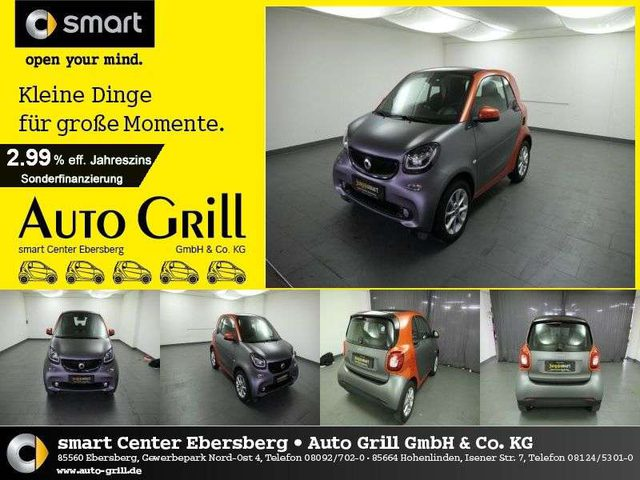 forTwo, fortwo 66 kW Passion twinamic SHZ DAB PanoDa