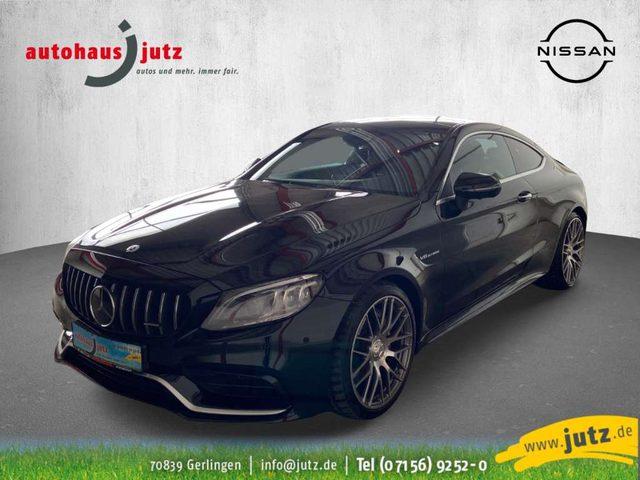 Mercedes-Benz, C 63 AMG, Coupe EU6d-T Leder LED Navi Keyless Dyn. Kurvenlic