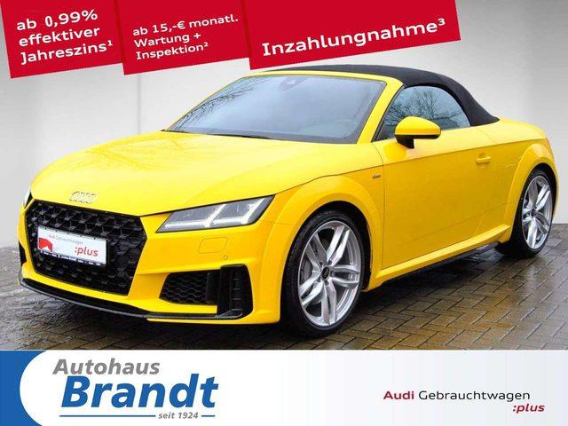 Audi, TT, Roadster 45 TFSI S-LINE*S-TRONIC*LED*LEDER*KAMERA