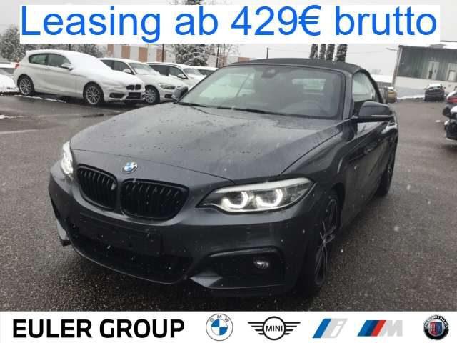 BMW, 220, iA Cabrio M Sport H/K Navi RFK adLED Komfortzugang