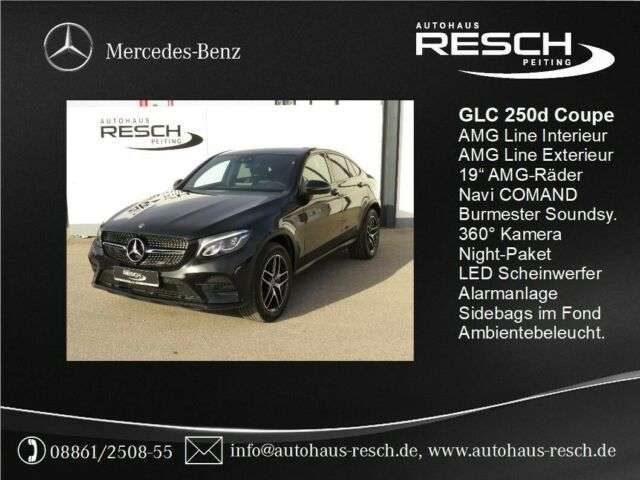Mercedes-Benz, GLC 250, d 4M Coupé AMG Line Comand 360° Sound Night