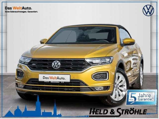 Volkswagen, T-Roc, Cabriolet R-Line 1.5 TSI LED NAV ACC PDC S