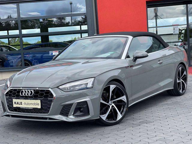 Audi, A5, Cabrio 40 TFSI*S-Line*Kopfraumhz*HeadUp*DAB*Matrix