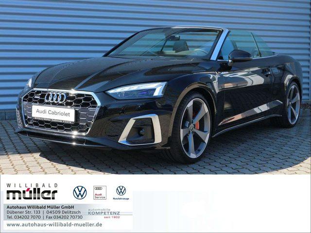 Audi, A5, Cabriolet S line quattro,Laser,AHZV,B&O,S-Sitze,Vi