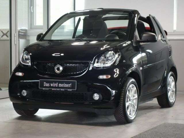 forTwo, fortwo cabrio twinamic 90PS Passion Verdeck rot