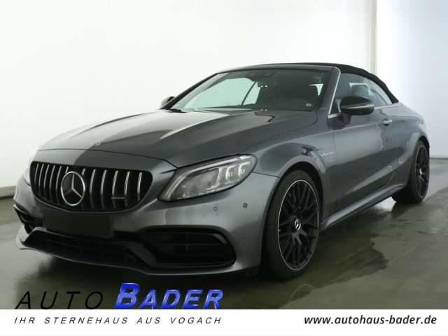 Mercedes-Benz, C 63 AMG, Cabrio Night 4xHighEnd Perf-Sitze+AGA