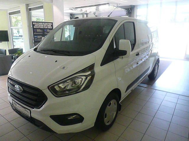 Ford, Transit Custom, 320 L2H1 LKW VA Trend+AHK+TW+Heckschwingtür!