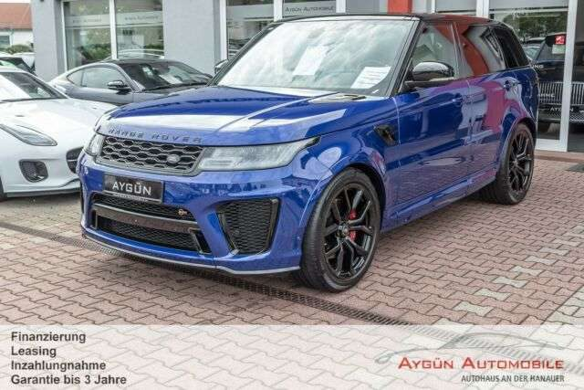 Range Rover Sport, P575 SVR / 22 Zoll / Head Up